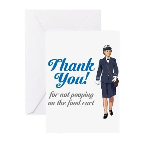 Poo'd Cart Greeting Cards (Pk of 20)