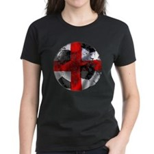 England Fulbol Distressed Design Tee