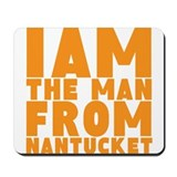 Nantucket Man Mousepad