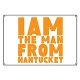 Nantucket Man Banner