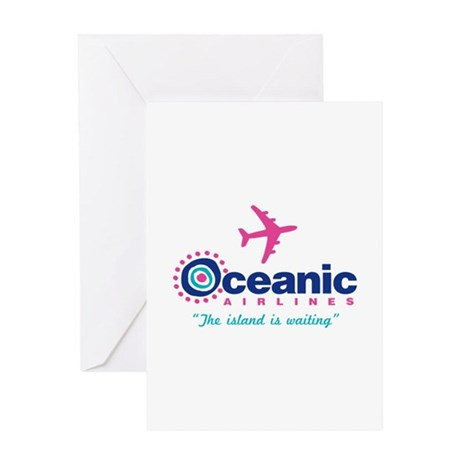 Oceanic Airlines Greeting Card