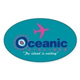 Oceanic Airlines Bumper Stickers