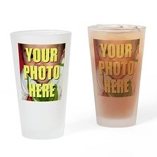 Custom Photo Drinking Glass
