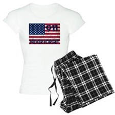 911 Grunge Flag Pajamas