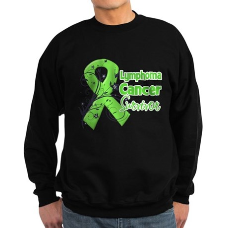 Lymphoma Survivor Sweatshirt (dark)