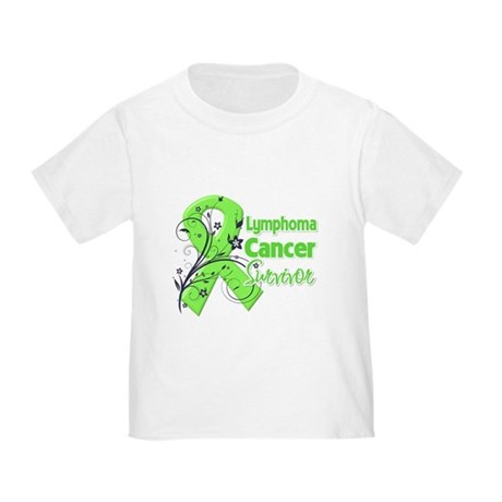 Lymphoma Survivor Toddler T-Shirt
