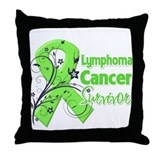 Lymphoma Survivor Throw Pillow