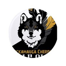 "Wolf Clan 3.5"" Button (100 pack)"