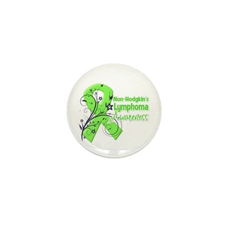 Non-Hodgkin's Lymphoma Mini Button (100 pack)
