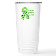 Non-Hodgkins Survivor Travel Mug