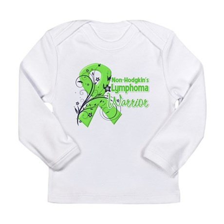 Non-Hodgkins Warrior Long Sleeve Infant T-Shirt