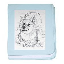 doge-moon baby blanket