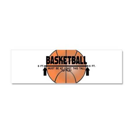Basketball This Tall Car Magnet 10 x 3