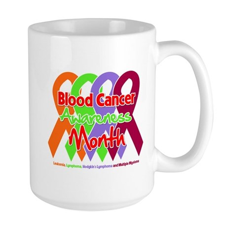 Blood Cancer Month Large Mug