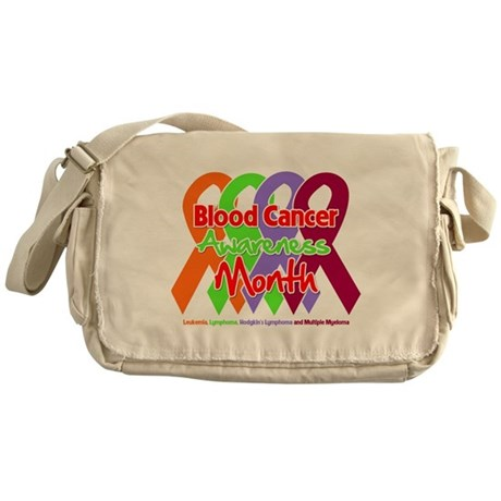 Blood Cancer Month Messenger Bag