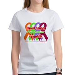 Blood Cancer Month Women's T-Shirt