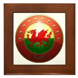 welsh shield Framed Tile