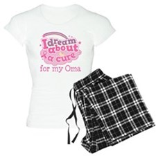 Breast Cancer Oma Cure pajamas