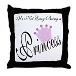 Party Princess Throw Pillow