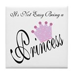 Party Princess Tile Coaster