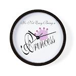 Party Princess Wall Clock