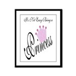 Party Princess Framed Panel Print