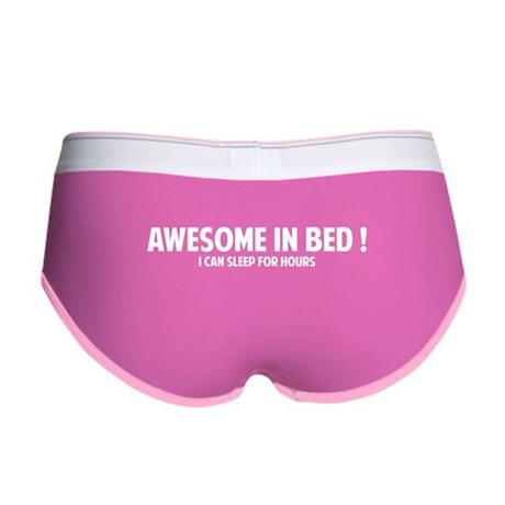 Awesome in Bed Women's Boy Brief