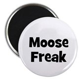 "Moose Freak 2.25"" Magnet (10 pack)"
