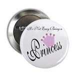 Party Princess Button