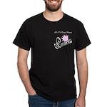 Party Princess Black T-Shirt