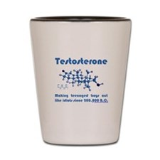 The Testosterone Collection Shot Glass
