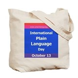 International Plain Language Tote Bag