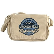 Jackson Hole Blue Messenger Bag