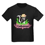 Little Stinker Margaret Kids Dark T-Shirt