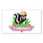 Little Stinker Margaret Sticker (Rectangle 10 pk)