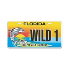 Funny Florida Aluminum License Plate
