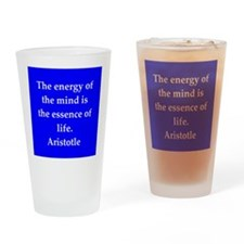 Wisdom of Aristotle Drinking Glass