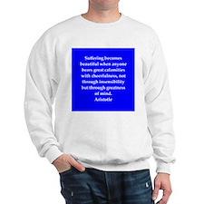 Wisdom of Aristotle Sweatshirt