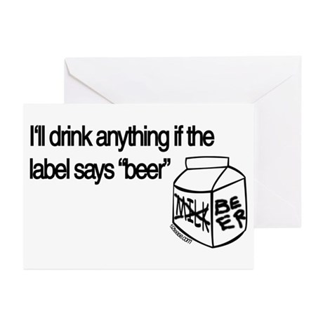 Ultimate Beer Drinking Greeting Cards (Package of