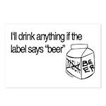 Ultimate Beer Drinking Postcards (Package of 8)