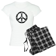 Pajama Designed Peace Women's Light Pajamas