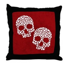 Love to the Bone Throw Pillow