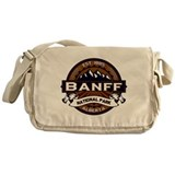 Banff Natl Park Vibrant Messenger Bag