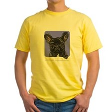Black French Bulldog Lover T