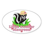 Little Stinker Maureen Sticker (Oval 10 pk)