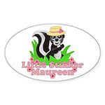 Little Stinker Maureen Sticker (Oval 10 pk)