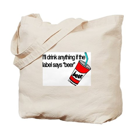 Beer Humor Tote Bag