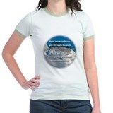 """Leonardo Quote - Skydiving"" T"