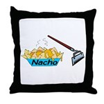 Nacho Hoe Throw Pillow
