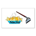Nacho Hoe Sticker (Rectangle 10 pk)